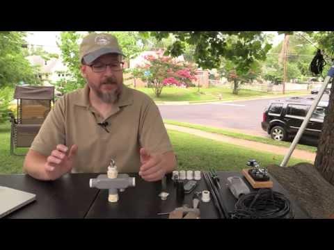 W4EDF Portable Dipole Antenna Center Support