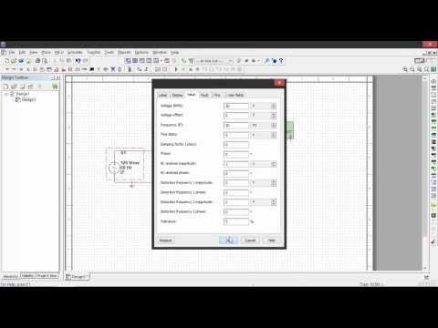 RLC Series Circuit Simulation