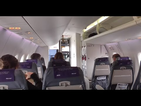 FlyBe Flight Experience Dash 8 / Embraer 175 Amsterdam - Manchester - Amsterdam
