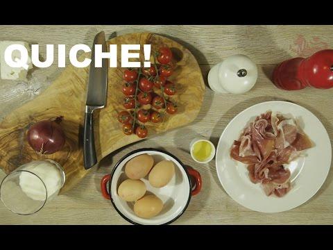 No Pastry Quiche - Egg Recipes
