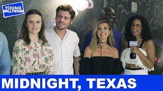 Midnight, Texas Cast Plays Kiss, Marry, or Dump!