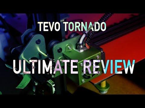TEVO Tornado Review - the Fully Assembled 3d printer