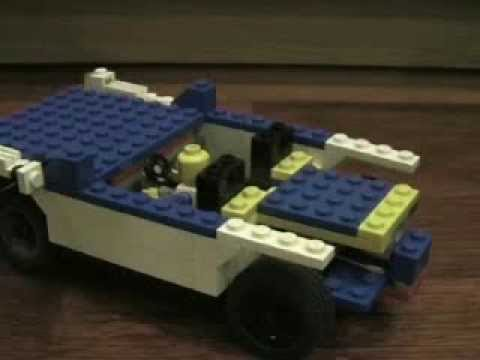 How to make GOOD lego car (Blue one)