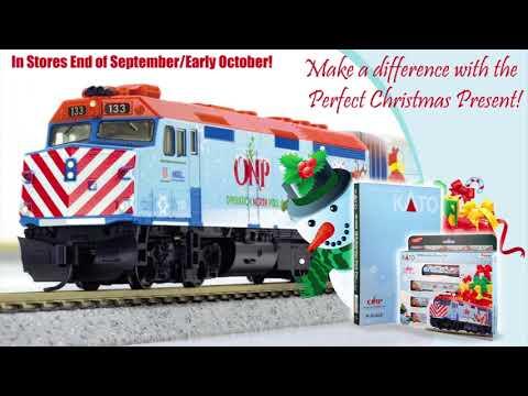 KATO N-Scale Operation North Pole Train Set