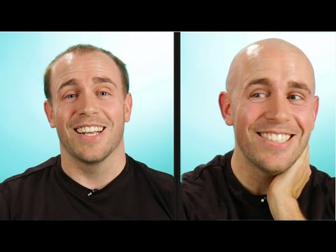 Balding Guys Go Completely Bald