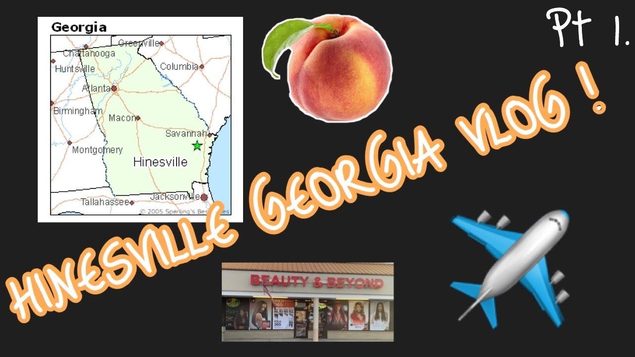 HINESVILLE GA VLOG | BEAUTY & BEYOND HAIR STORE | OD CRAB HOUSE