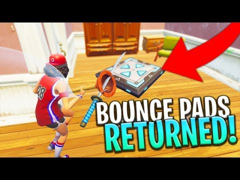 *LEAKED* NEW ITEM BOUNCE PAD COMING BACK FOR PLAYGROUND LTM! - Fortnite: Battle Royale