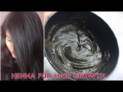 How To Mix HENNA For HAIR GROWTH, Reduce HAIR FALL, Get LONG, THICK, SHINY HAIR