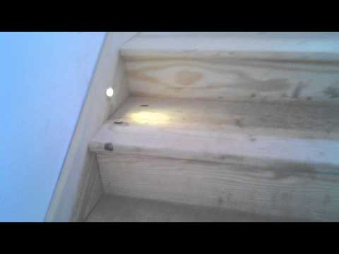 Buck Parrish, Led lights in the baseboards