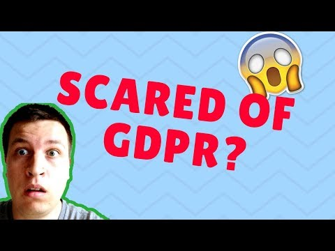 😱 Are you SCARED OF GDPR?