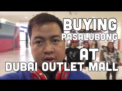Buying Pasalubong @ Dubai Outlet Mall (10-March-2016) Dubai Pinoy Vlog