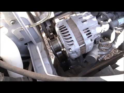 2009 Nissan Sentra Serpentine Belt Replacement