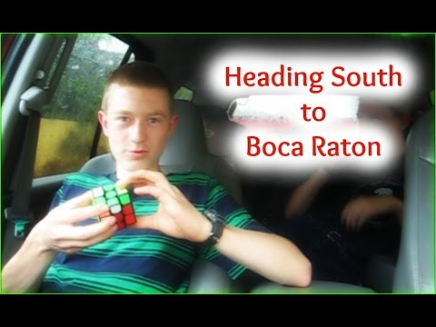 Heading South to Boca Raton