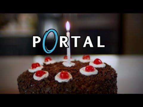 PORTAL CAKE! It's Not a Lie
