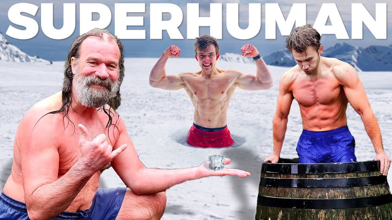 UNLOCKING SUPERHUMAN STRENGTH WITH THE ICE MAN (Wim Hof)