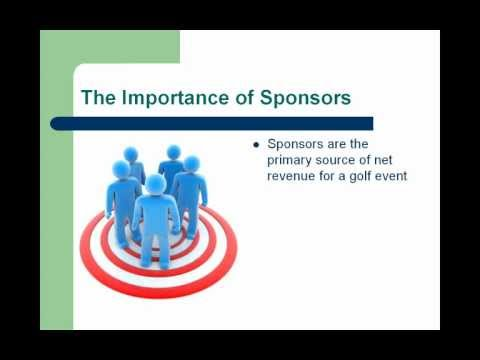 Targeting and Selling Sponsor for Your Golf Event