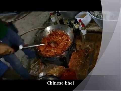 Chinese Bhel  - Mixed Rice - Surpa Rice - Street food