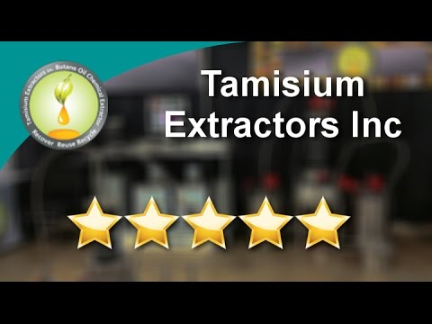 Tamisium Extractors Inc  Excellent Five Star Review by Rm