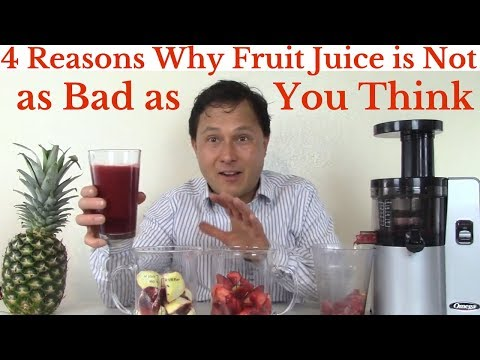 4 Reasons Why Fruit Juice is Not as Bad as You Think