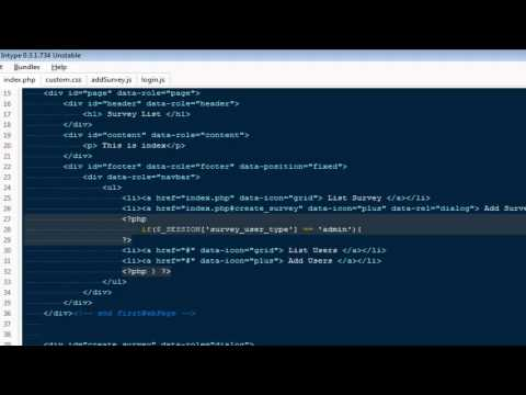 Creating Mobile Web Applications Using Jquery Mobile :- Part 7