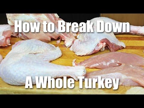 Breaking Down a Whole Turkey