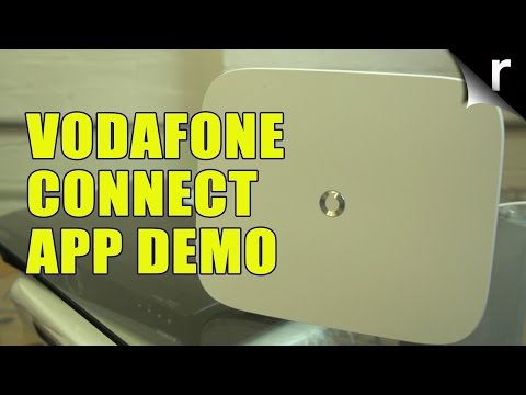 Vodafone Connect router and app: Hands-on demo