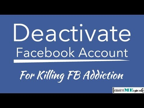 How to Deactivate Facebook Account  From Mobile Phone