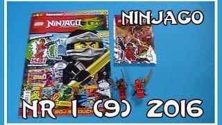 Otwieramy Magazyn Lego Ninjago Nr10 30 Z 2017r Figurka Nindroida