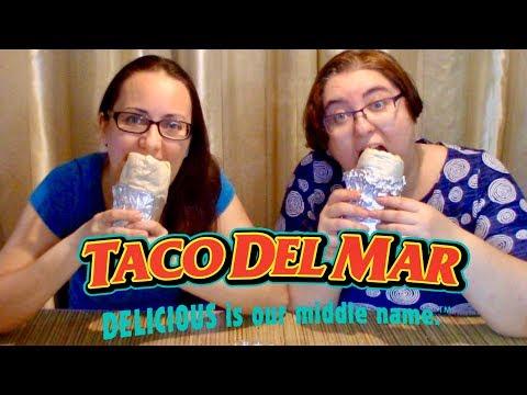 Pulled Pork Burrito Taco Del Mar | Gay Family Mukbang (먹방) - Eating Show