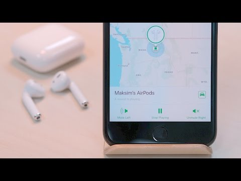 First look: Find my AirPods