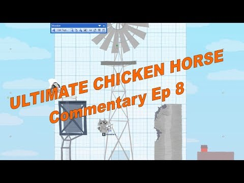 Ultimate Chicken Horse PC Gameplay Fun Action Keeping it Real Ep8