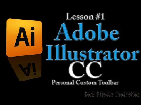 Adobe Illustrator CC - Lesson #1 Personal Custom Toolbar