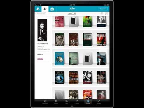 Kobo - Reading Life™ Friends on iPad