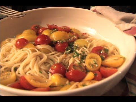 Cherry Tomato Sauce Pasta Recipe
