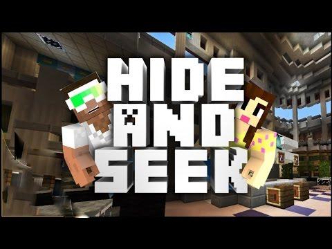 HACKED AGAIN! - Hide N' Seek! - Minecraft Mini-Game w/Biggs87x