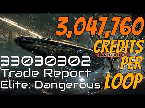 Elite: Dangerous - Trade Report 33030302