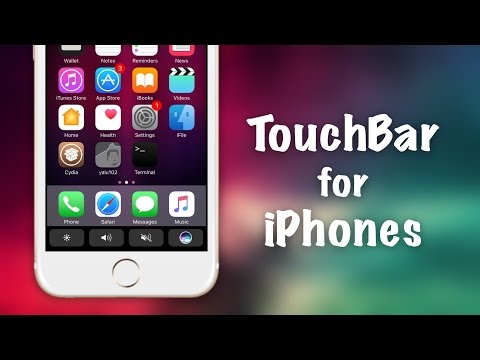 How to Get MacBook TouchBar on iOS | TouchBar Upcoming Cydia Tweak
