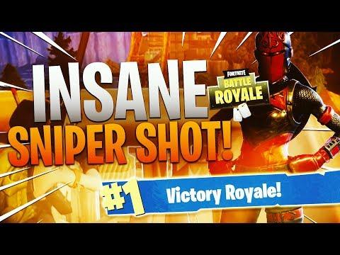 DIRTY SNIPER SHOT!! - Fortnite Battle Royale - Tosh
