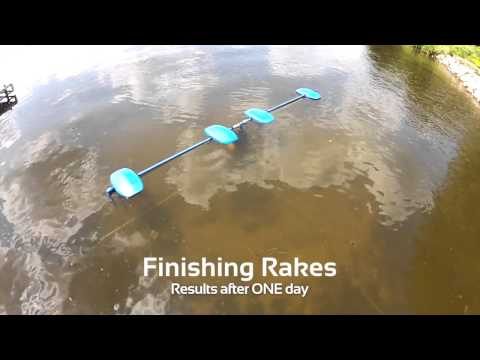 LAKEMAID® 12'-24'-36' unit - Automatic Lake Weed and Silt Removal