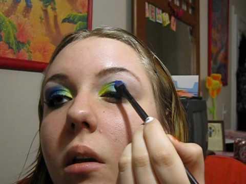 CLUE inspired Makeup look