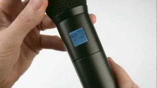 Lectrosonics HH Handheld Wireless Microphone Transmitter