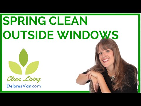 Norwex Cleaning Windows, Glass Indoors & Outside, Enviro & Window Cloth