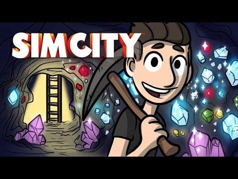 The Ultimate Diamond Mine! - Sim City Ep.5 - SimCity Lets Play