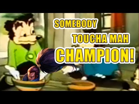 TheWanderingPro - SOMEBODY TOUCHA MAH CHAMPION I Unranked To Challenger