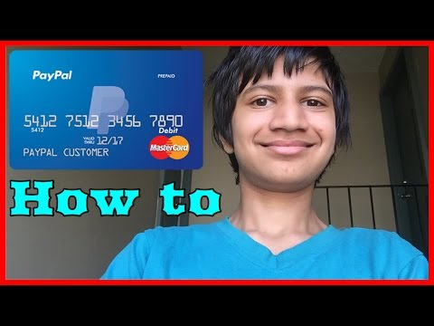 How To Get Paypal Prepaid MasterCard And How To Activate It For Free (US only