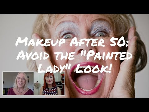 Eye Makeup for Older Women: How to Avoid the Painted Lady Look