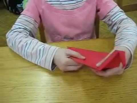 How to make an origami parrot