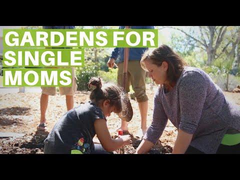 Gardens for Single Moms