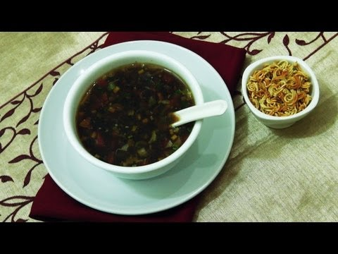 Veg Manchow Soup Recipe - Indo Chinese Cuisine
