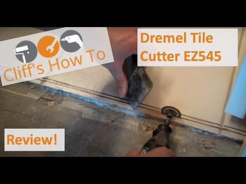 Dremel Diamond Tile Cutter EZ545 Review